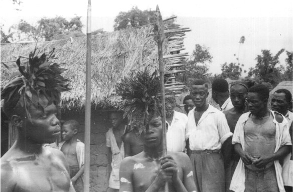 Mbote Bembe dancers prefig hunt number 134 1950