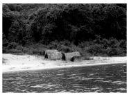 Bwari fishing shacks number 18 1950